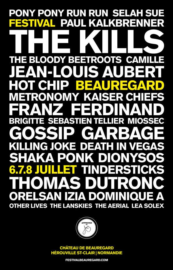 La Normandie se met aux couleurs du Festival Beauregard-0