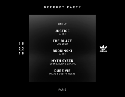 LANCEMENT ADIDAS DEERUPT – DEERUPT PARTY-0