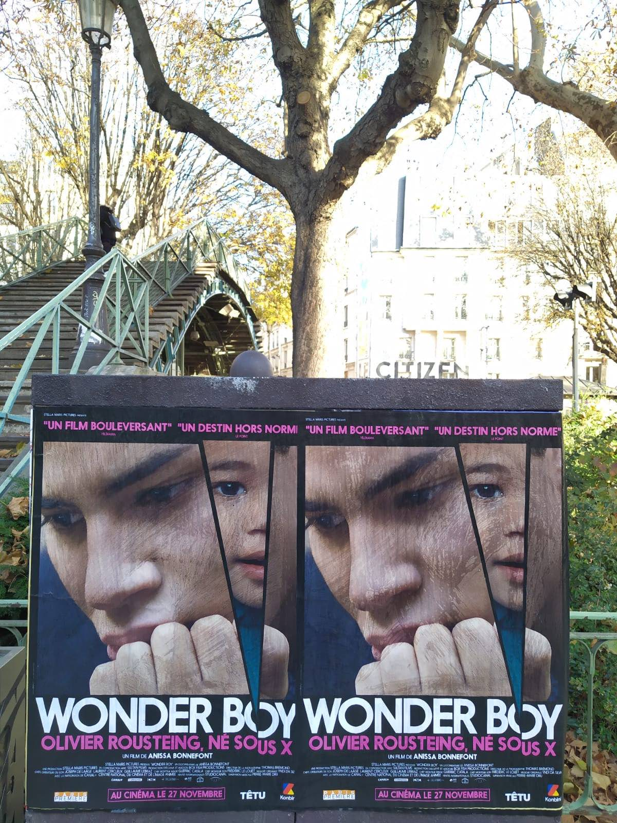 Wonder Boy, Olivier Roustaing, Né sous X-2